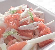 ricetta gnamit food Carpaccio di salmone, finocchi e arance step 1