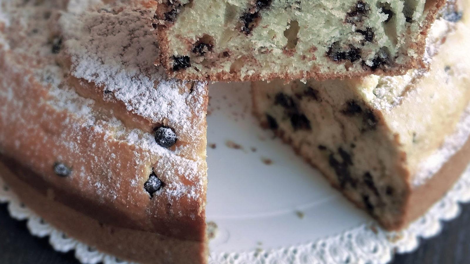 torta ricotta e cioccolato gnamit