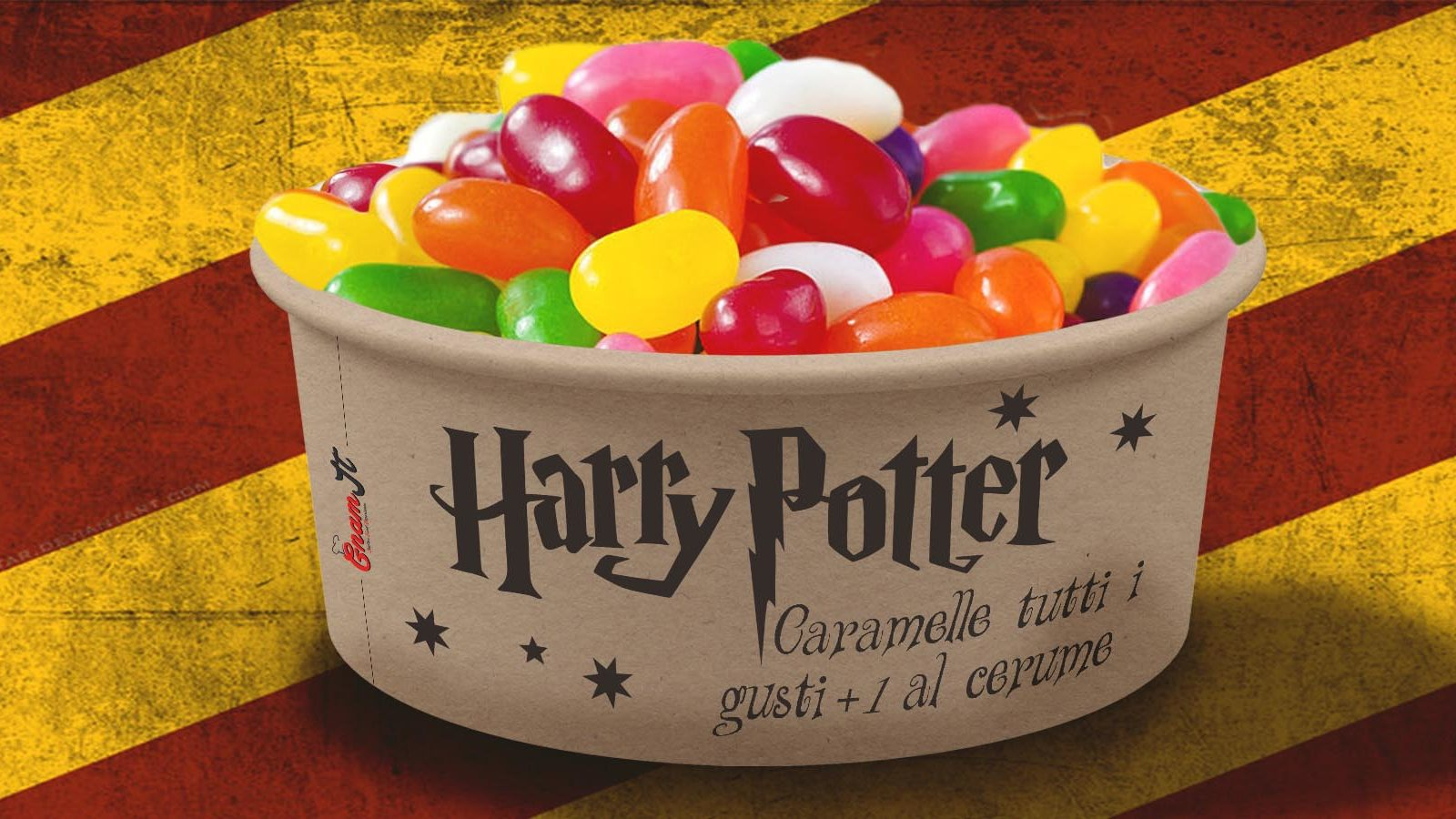 gelatine film Harry potter gnamit