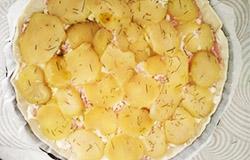 Quiche ricetta gnamit step 2