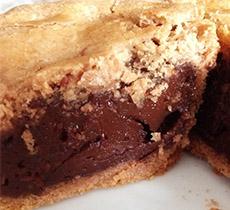 Ricetta Torta pasticciotto al cioccolato gnamit step 2