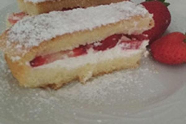 torta paradiso alle fragole gnamit step 3