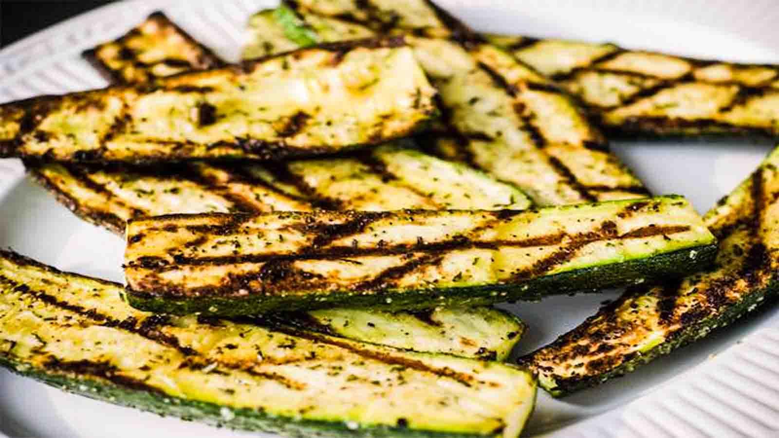 Zucchine grigliate Gnamit