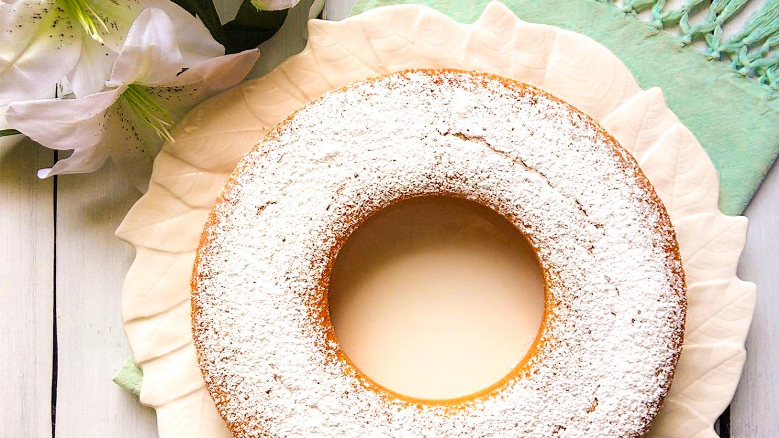 Ciambella Al Limone Senza Burro E Senza Latte Gnamit