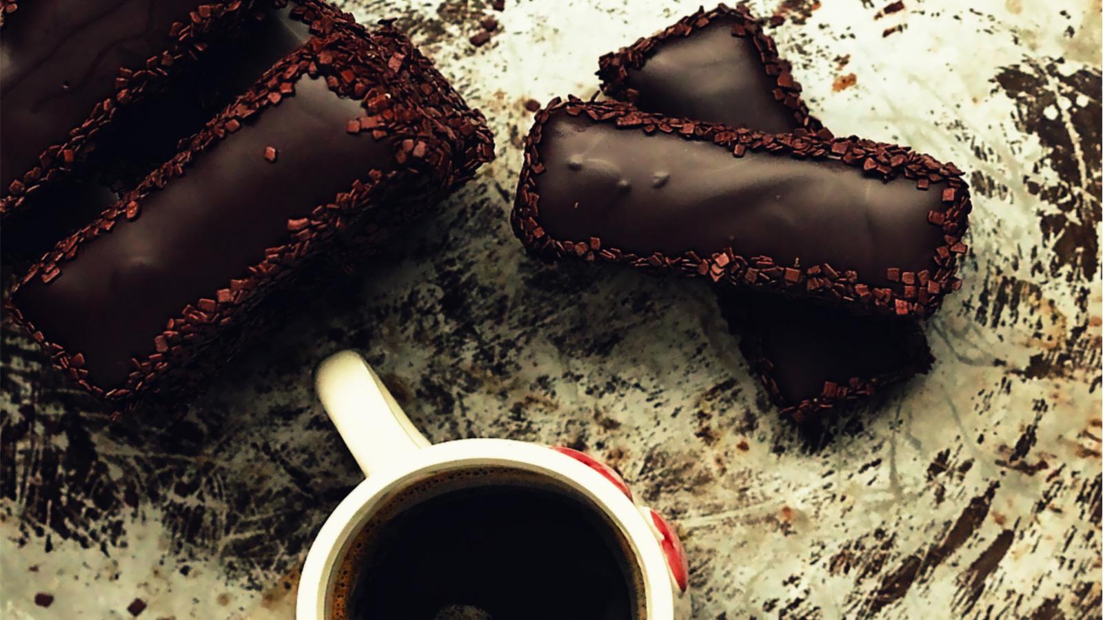 Biscotti al cioccolato e gianduia