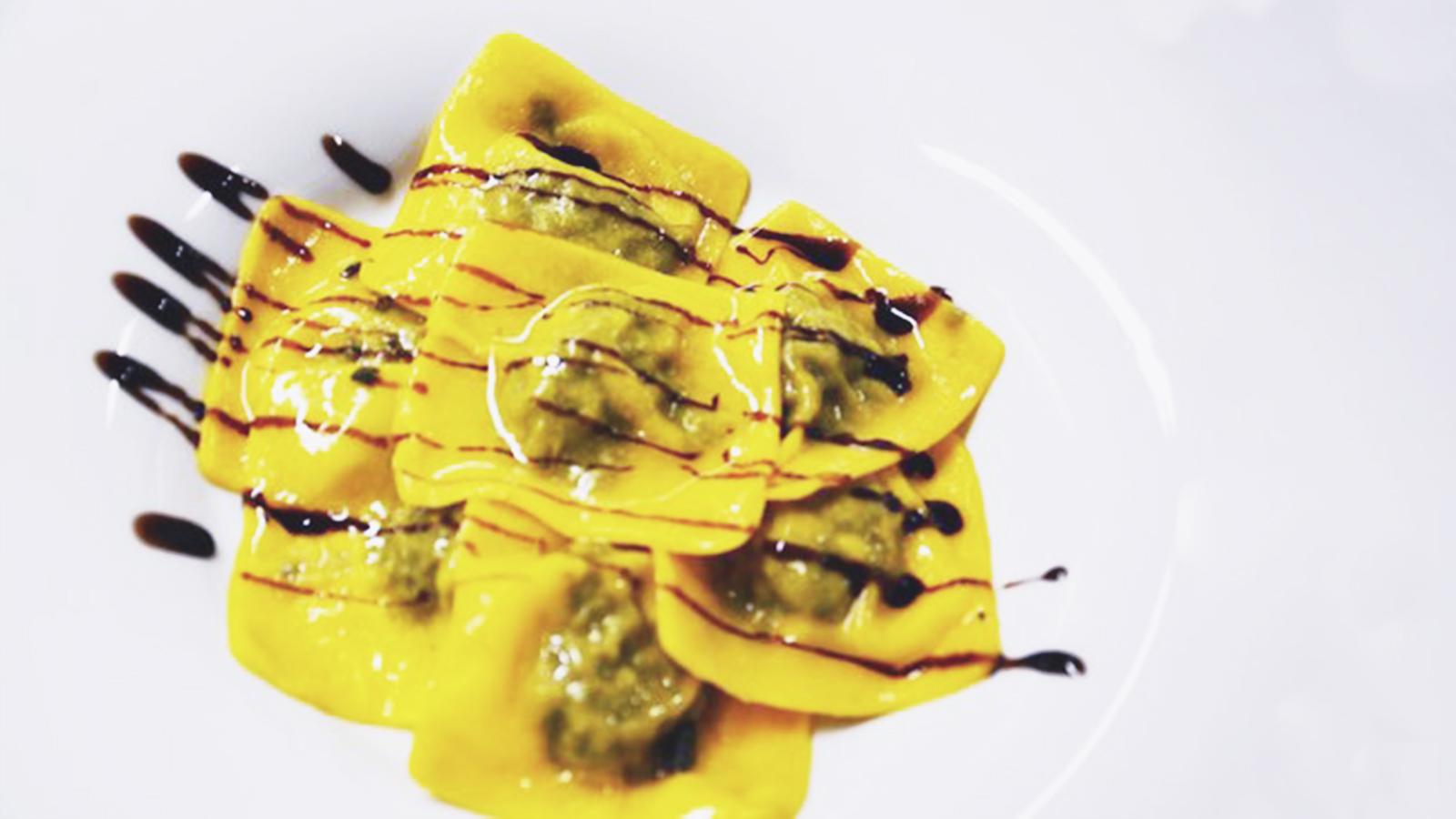 Ravioli al Parmigiano
